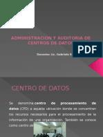 Administracion y Auditoria de Centros de Datos