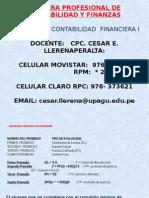 Clase 1-Teoria Contable 2012 -1
