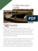 A Volunteer's Story From Post-tsunami Sri Lanka