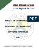 Mof Unidad Servicios Generales