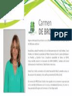 Perfil Broce Carmen - Nómina Verde 2015