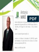 Perfil Miró Antonio - Nómina Verde 2015