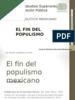 El fin del populismo mexicano.ppt