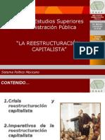 LA REESTRUCTURACION CAPITALISTA.ppt
