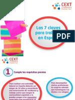 Las 7 claves para trabajar en España