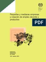 Informe Pymes y empleo decente OIT 2015.pdf