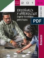Unesco Educacion para todos