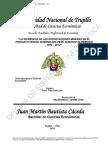 La Incidencia de Las Exportaciones Mineras en El PBI Del Peru Durante El Periodo 1994 - 2012