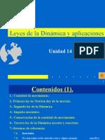 14 Leyes de La Dinámica y Aplicaciones