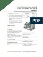 Manual Gen 600kw; Selmec