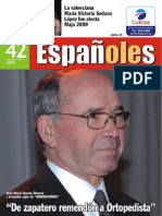 Revista Españoles, número 42 Noviembre 2009