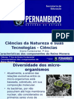 ProfessorAutor-Ciências-Ciências  Ι  7º ano  Ι  Fundamental-Características dos componentes do reino Monera.ppt
