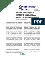 Aspectos Ecofisiológicos Na Condução Da Videira