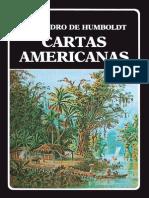 Alejandro Humbolt Cartas Americanas