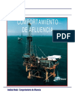 Comportamiento de Afluencia de pozos petroleros.