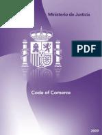 Code of Comerce (Código de Comercio)
