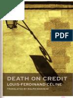 Louis-Ferdinand Celine-Death on Credit -Oneworld Classics Ltd (2009)