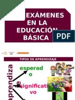 Tipos de Examenes