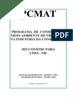 MODELO Pcmat Jef Construtora Ltda