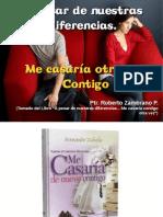 01. Seminario Matrimonios a Pesar..