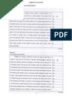 English PT3 Format (Error Identification)