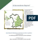 Wie entstand das moderne Bayern - Montgelas