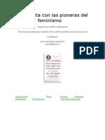 Webquest. Entrevista Con Las Pioneras Del Feminismo