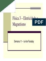 Fisica 3 - Semana 11 - Lei de Faraday