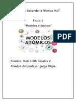 Modelos Atomicos.