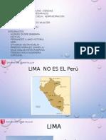 LIMA NO ES EL PERU
