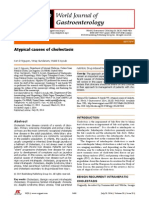 Causas Atipicas de Colestase