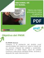 Presentación Director Del PNSR