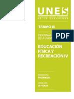 Programa Educacion Fisica IV
