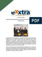 Santa Catarina Recebe Prêmio No Maior Evento de Governo Eletrônico Da América Latina