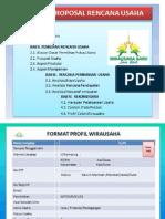 Outline Proposal Wirausaha Baru Jawa Barat 2015