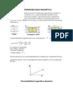 Permeabilidad magnetica