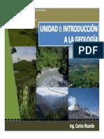 Unidad i Introduccion Geologia Aplicada