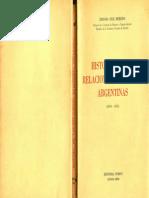 Ruiz Moreno, Isidoro (1961) - Historia de Las Relaciones Exteriores Argentinas (1810 - 1955)