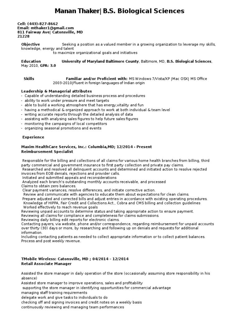 Gemütlich Lebenslauf Ort Catonsville Galerie - Entry Level Resume ...