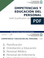cias y EduacioSistema de Competenn Del Personal