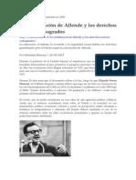 La Constitución de Allende y Los Derechos Aún No Consagrados