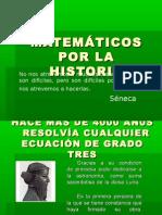 MATEMÁTICOS POR LA HISTORIA 2