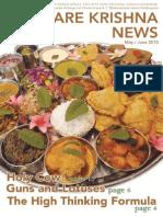 Hare Krishna News May June 2015