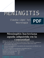 Meningitis Neuro