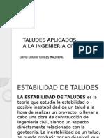 Taludes Aplicados a La Ingenieria Civil