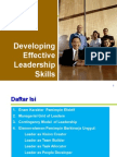 Sampel High Performance Leadership