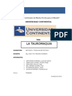 Tauromaquia Monografia Final