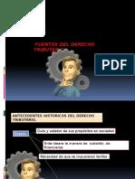 FUENTES DE DERECHO TRIBUTARIO