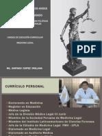 Medicina Legal - Maestria Derecho