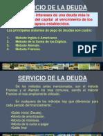 Servicio de Deuda